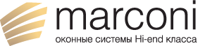 Логотип компании Marconi