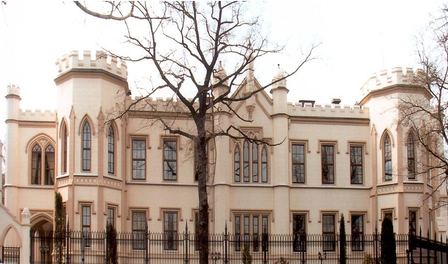 Окна Маркони - Английские окна - Дворец Бржозовского